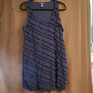 Alfani ruched navy dress. BUY 3 FOR $12!!